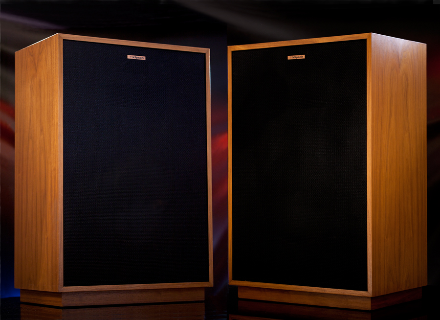 Comwall Pictures Design : Details about Klipsch Vintage Cornwall HiFi Horn Speakers Walnut Pair
